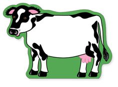 Large Notepad - Cow