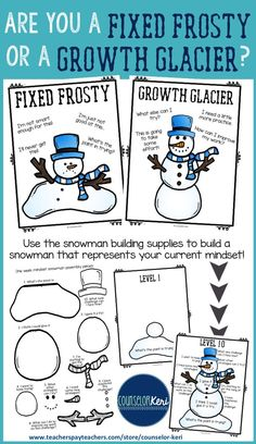 Growth mindset classroom guidance lesson - elementary school counseling - Counselor Keri