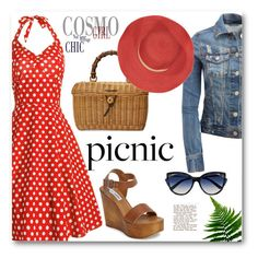 """Picnic in the Park"" by zon-vito ❤ liked on Polyvore featuring La Perla, Aéropostale, Gucci, Steve Madden, Bleu Comme Gris and picnic"