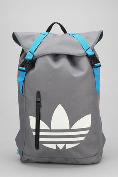 Products we like / packpack / Softgoods / Grey / Blue / Adidas / at leManoosh : Photo