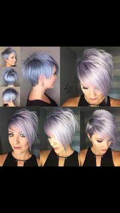 30 best Pixie hairstyles 2018 - My list of women's hairstyles Short Hairstyles For Women, Cool Hairstyles, Curly Haircuts, Hairstyle Ideas, Edgy Pixie Hairstyles, Short Hair Cuts, Short Hair Styles, Hair Color And Cut, Hair Styles 2016