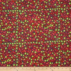 Anna Maria Horner Field Study Linen Pressed Field Poppy