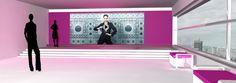Elle, parfum, Yves Saint Laurent, monde: conseil en communication, direction artistique, design graphique (3D – 2D), univers interactifs motion