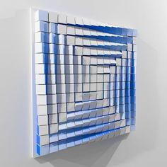 Transformation 3 Sculpture by Andrij Savchuk Saatchi Art Wood Wall Art Decor, 3d Wall Art, Geometric Wall Art, Hanging Wall Art, Wood Sculpture, Wall Sculptures, Wooden Wall Art, Op Art, Diy Arts And Crafts