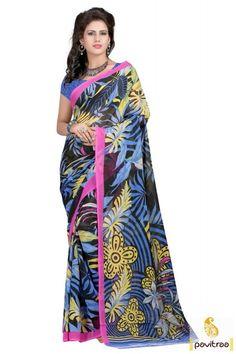 d0eec644e0 Z Hot Fashion Georgette Embroidered Salwar Suit Dupatta Material ...