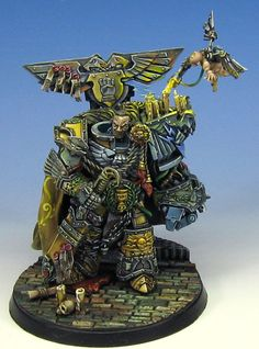 Rogal Dorn was the Primarch of the Imperial Fists Space Marine Legion and one of the greatest heroes in the history of the Imperium of Man.