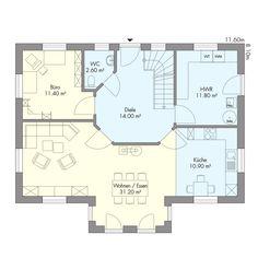 Schwedenhaus innenausstattung  Schwedenhaus Westerland | VIERCK Schwedenhäuser | häuser | Pinterest