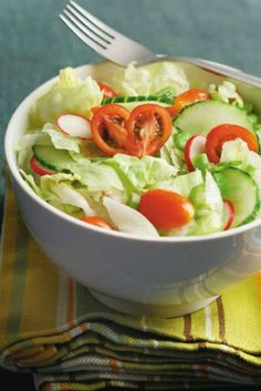 This salad is perfect for Shabbat.