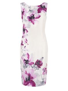Placement Flower Dress pink Mother of the Bride Outfit
