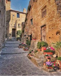 Civita di Bagnoregio, Viterbo, Lazio, Itália