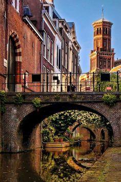 Kromme Nieuwe Gracht, Utrecht, Netherlands