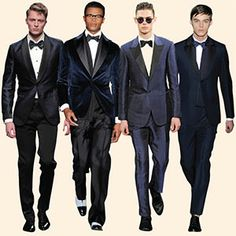 """Tuxedos Turn Dark Blue   """"I find it to be the most elegant colour. Black is overestimated because the details almost disappear."""" ~ Brunello Cucinelli   http://www.ft.com/intl/cms/s/2/7056015a-60f7-11e3-916e-00144feabdc0.html  Which tuxedo color do you wear?"""
