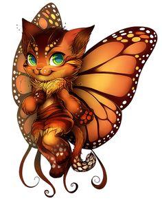 Cat Fairy by Kiwiggle | kiwiggle.co.uk | FurVilla.com