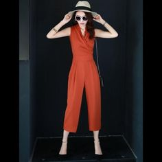 Chic Summer Womens Evening Jumpsuit Romper Pants Suit Szparty V Neck Sleeveless