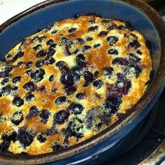 Chef Johns Blueberry Clafoutis  - Allrecipes.com