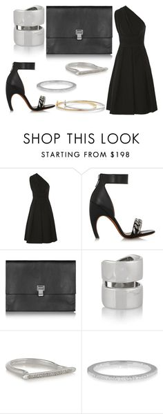 Sans titre #1030 by carla-afonso on Polyvore featuring mode, Preen, Givenchy, Proenza Schouler, Monica Vinader, Jennifer Fisher and Kenneth Jay Lane