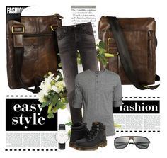 """""""TimeResistance 9"""" by gaby-mil ❤ liked on Polyvore featuring Nudie Jeans Co., Breed, Dr. Martens and Daniel Wellington"""