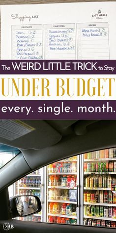 Loved this grocery budget shopping hack! Best Money Saving Tips, Ways To Save Money, Saving Money, Money Savers, Investing Money, Budgeting Finances, Budgeting Tips, Joanna Gaines, Setting Up A Budget