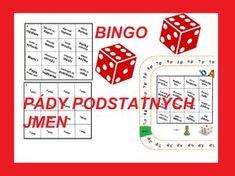 Stolní... Bingo, Monopoly, Education, Games, School, Montessori, Teaching Ideas, Literatura, Gaming