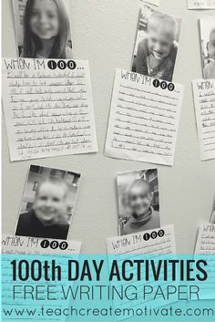 Adorable, easy, quick way for teachers to incorporate writing and technology into Day activities! Includes a Freebie! Free Teaching Resources, Teacher Resources, Teaching Kids, Reading Resources, Teaching Writing, Classroom Resources, 2nd Grade Writing, 2nd Grade Teacher, Third Grade