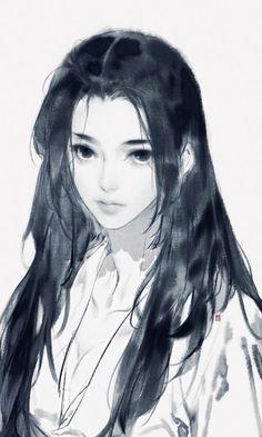 Tác Giả : Hạ Vũ (Ẩn Tiều Phu)          Thể loại : Xuyên không, 1x1   … #romance #Romance #amreading #books #wattpad Anime Art Girl, Manga Art, Pretty Art, Cute Art, Photographie Portrait Inspiration, Digital Art Girl, Beautiful Drawings, Art Reference Poses, Aesthetic Art