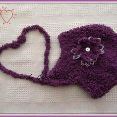 Bonnet bebe crochet cache oreilles