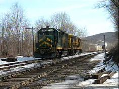 """New England Slurry""; Vermont Railway Forwards Slurry to the Pan Am Sout..."
