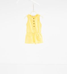 Embroidered dungarees-DRESSES AND JUMPSUITS-BABY GIRL | 3 months-3 years-KIDS | ZARA United States