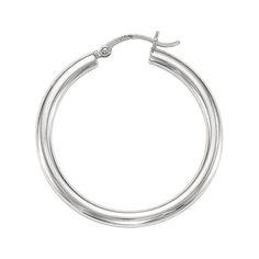 Ebay NissoniJewelry presents - 14kt White Gold 4.0X30mm Round Tube Shiny Hoop Earrings    Model Number:ER376    http://www.ebay.com/itm/14kt-White-Gold-4.0X30mm-Round-Tube-Shiny-Hoop-Earrings/321612188444