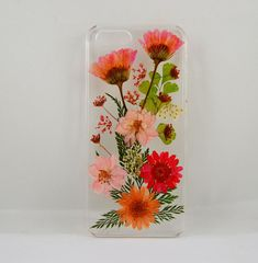 Real flower iphone 5c case pressed flower iphone 5c by TOPDIYSTORE