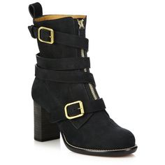 Chloe Colby Leather Zip-Up Ankle Boots (24.370 ARS) ❤ liked on Polyvore featuring shoes, boots, ankle booties, apparel & accessories, black, black leather bootie, leather ankle boots, ankle boots, leather motorcycle boots and leather booties