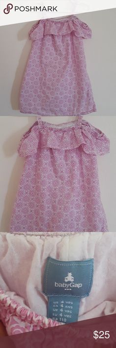 Clothing, Shoes & Accessories Devoted Babygap Pink With Fish Dress Size 3 3t Sleeveless