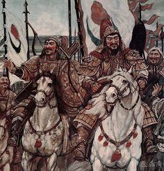 Khublai Khan's entry to Kaifeng, China