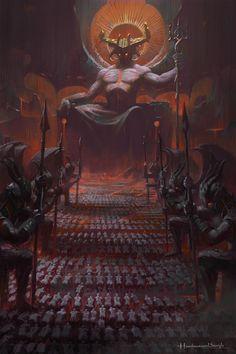 Architecture Discover Worlds of Fantasy Fantasy Concept Art Dark Fantasy Art Fantasy Artwork Dark Art Arte Horror Horror Art La Danse Macabre Arte Obscura Satanic Art Fantasy Concept Art, Dark Fantasy Art, Fantasy Artwork, Dark Art, World Of Fantasy, Fantasy Demon, Demon Art, Arte Horror, Horror Art