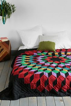Pendleton Starry Night Quilt - love the deep colors!