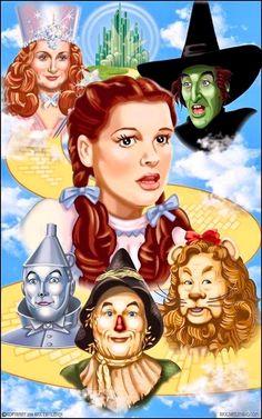 Judy Garland-The Wizard Of Oz............