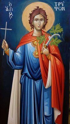 Orthodox Catholic, Orthodox Christianity, Byzantine Icons, Byzantine Art, Religious Icons, Religious Art, John Chrysostom, Chi Rho, Orthodox Icons