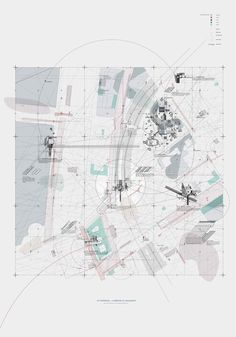 Sayan Skandarajah - 'Curating an Egalitarian Territory' Architecture Site Plan, Architecture Mapping, Architecture Graphics, Architecture Student, Concept Architecture, Architecture Drawings, Urban Analysis, Site Analysis, Map Diagram