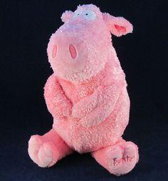 Kohls Cares Pink Plush Stuffed Sandra Boynton Pig EUC Cute Adorable Animal #KohlsCares