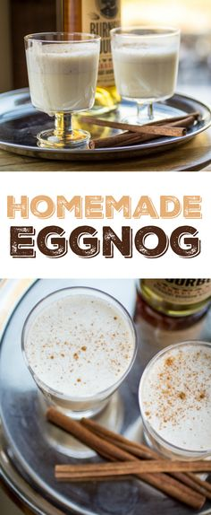Once you see how easy it is to make eggnog at home, you'll never go back to store-bought!