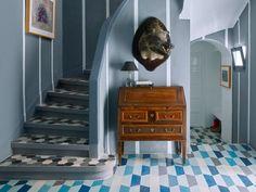 Tour a Gorgeously Tiled Moroccan Home via @MyDomaine