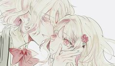 Diabolik Lovers (More Blood)- Yui x genderbent Yui #Anime #Game #Otome