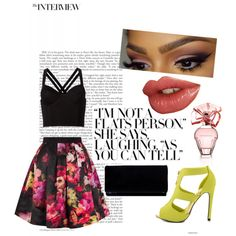 Shoe accent by osrodzari on Polyvore featuring polyvore fashion style Fleur du Mal Ted Baker Qupid BCBGMAXAZRIA
