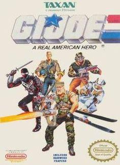G.I. Joe Nintendo Game by Taxan