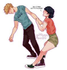 "gittana: ""she just wanna see your childhood photos, c'mon Adrien, isn't that awkward. """