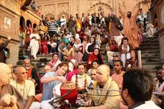We have been told that maha-mantra is the highest of all sound vibrations. Sometimes we start chanting maha-mantra in Bollywood or Hollywood tune. So will that give same benefit as we chant normally. Can we chant in any tune? FIND THE ANSWER HERE.