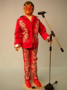 Elton John doll