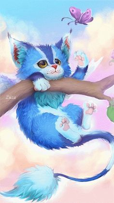 CUTE KITTY CAT GIF