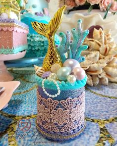 Mermaid Party Decorations, Birthday Party Decorations, Maybe For You, Baby Shower Gifts, Alice, Barbie, Rose, Confetti, Crafts