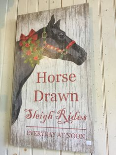 Horse Drawn, Horses, Signs, Home Decor, Decoration Home, Room Decor, Shop Signs, Horse, Sign